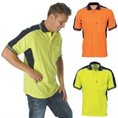 Hi Vis Polo Work Shirt