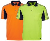 Hi Vis Tape Polo Shirt