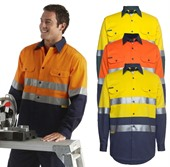 High Vis Long Sleeve Work Shirt