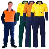 High Visibility Work Coverall