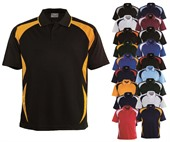 Kids Contrast Sports Polo