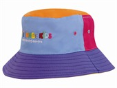 Kids Mulitocolour Bucket Hat