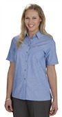 Ladies Blue Business Shirt