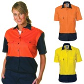 Ladies High Vis Work Shirt