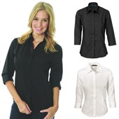 Ladies Polyester Cotton Shirt