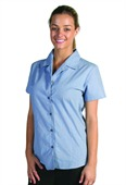 Ladies Revere Collar Business Shirt