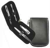 Leather Look Manicure Kit