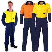 Lightweight Cotton Hi-Vis Coverall