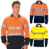 Long Sleeve Hi Vis Jersey Shirt