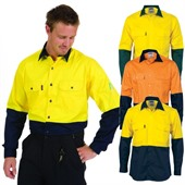 Long Sleeve High-Vis Work Shirt