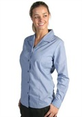 Long Sleeve Ladies Business Shirt