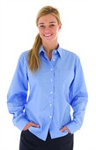 Long Sleeve Ladies Chambray Shirt