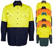 Long Sleeve Mens Hi Vis Shirt