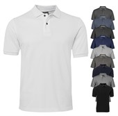 Mens Cotton Pique Polo Shirt