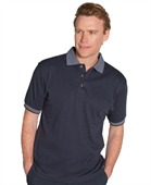 Mens Drop Needle Polo Shirt