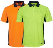 Mens High Vis Polo Shirt