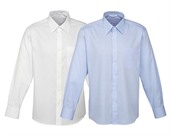 Mens Sleeved Business Shirt