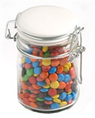 Mini M&Ms in Medium Jar