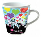 Personalised V Shape Mug