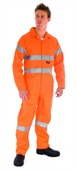 Plain Reflective Work Coverall
