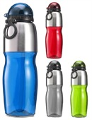 Plastic Sports Water Bottle