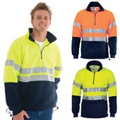 Polar Fleece Reflective Tape Sweater