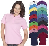 Poly Cotton Womens Polo Shirt