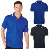Polyester Piping Polo Shirt
