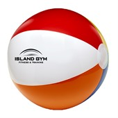 Printed Beach Ball