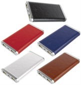 PU Leather Power Bank