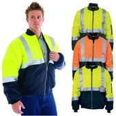 Rain Jacket with Hi Vis Tape