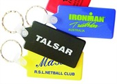 Rectangle Plastic Keytags