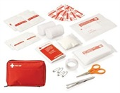 Red Pouch First Aid Kit