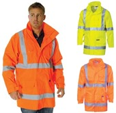 Reflective Orange Work Jacket