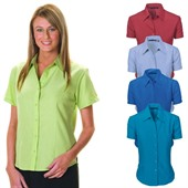 Relaxed Women Short Sleeve Shirt