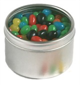 Rounded Jelly Bean Tin
