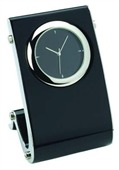 Shiny Black Office Clock
