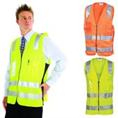 Side Panel Hi Vis Vest