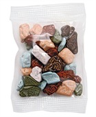 Small Confectionary Bag with Chocolate Rocks