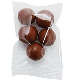 Small Confectionary Bag with Malt Balls