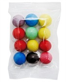 Small Confectionary Bag with Mixed Chocolate Balls