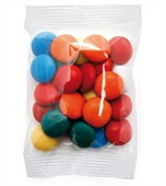 Small Confectionary Bag with Mixed Chocolate Gems