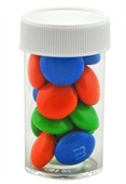Small Pill Bottles M & Ms