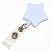 Star Retractable ID Holder