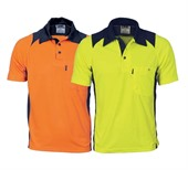 Two Tone Action Polo