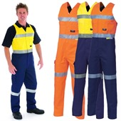 Two Tone Cotton Work Coverall