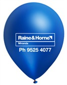 Ultramarine Customised Balloons