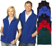 Unisex Polar Fleece Vest