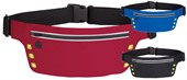 Waist Bag With Safety Strip And Lights