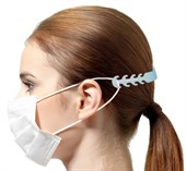 White Face Mask Fastener